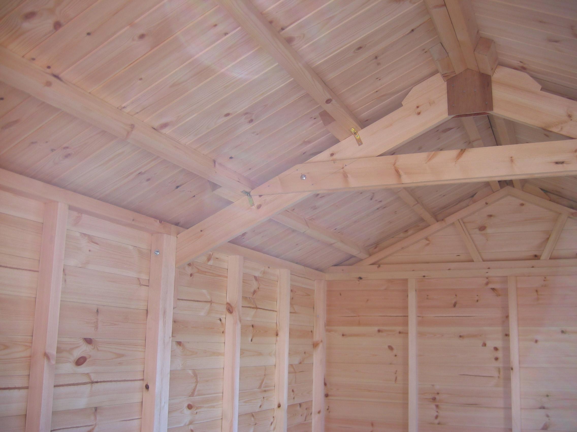 Wooden garages in nottinghamshire - Img_2062