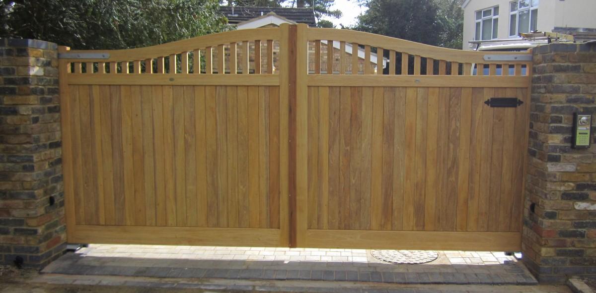 Wooden Gates 56 - TPS Electric Gates