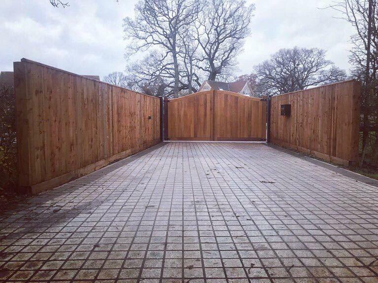Wooden Gates 7   TPS Electric Gates