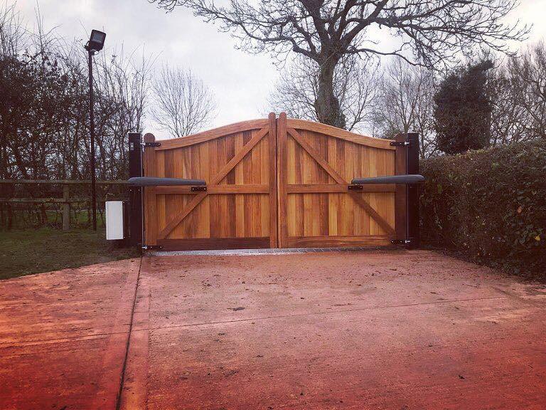 Wooden Gates 6   TPS Electric Gates